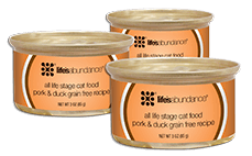 Life's Abundance Canned Pork & Duck Grain Free Cat Food